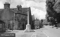 Winchcombe, The War Memorial c.1955