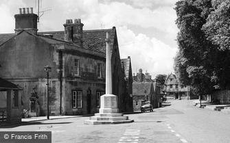 Winchcombe, the War Memorial c1955