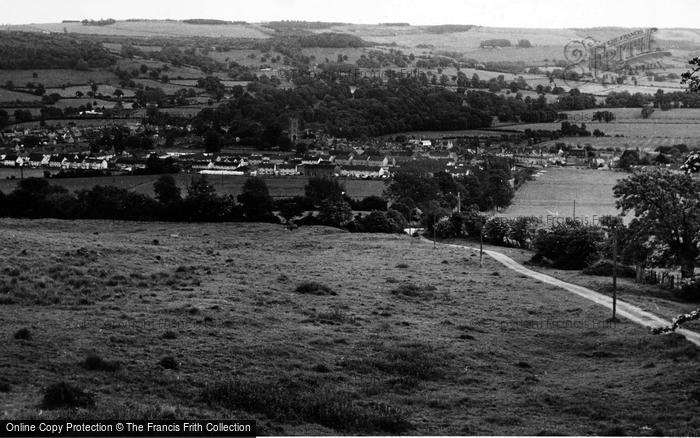 Photo of Winchcombe, View From Above c.1960