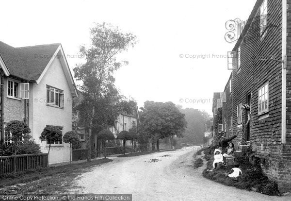 Photo of Winchelsea, Barrack Square 1912
