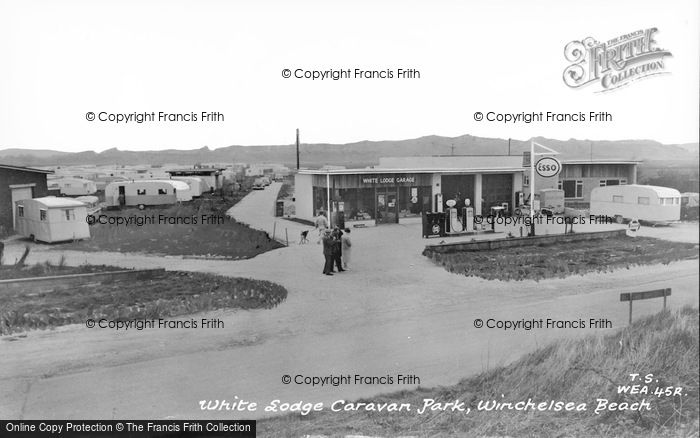 Photo of Winchelsea, Beach, White Lodge Caravan Park c.1960