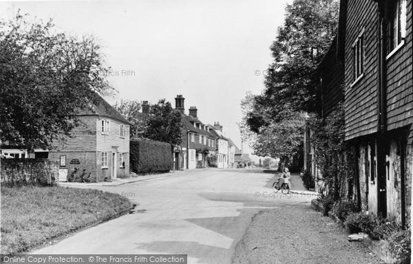 Photo of Winchelsea, Castle Street c.1955