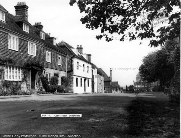 Photo of Winchelsea, Castle Street c.1960