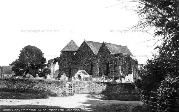 Photo of Winchelsea, Church Of St Thomas The Martyr 1888