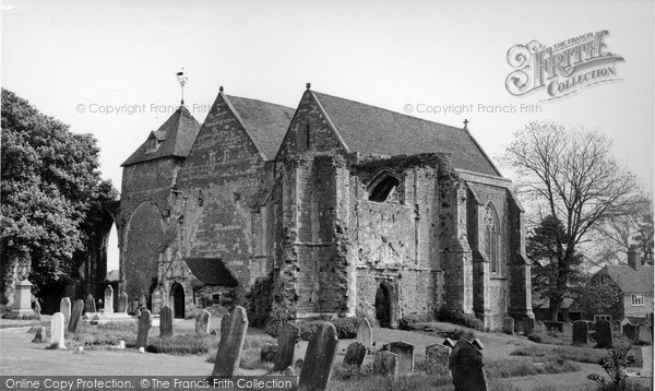 Photo of Winchelsea, Church Of St Thomas The Martyr c.1955