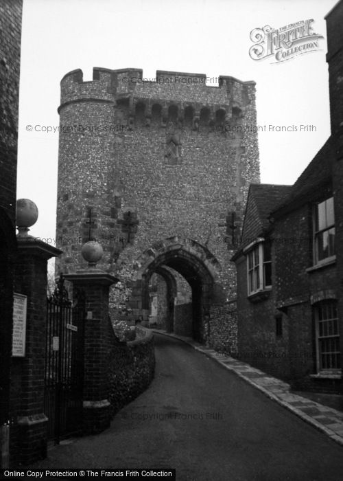 Photo of Winchelsea, Gateway c.1950