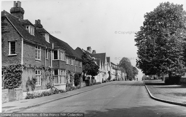 Photo of Winchelsea, German Street c.1955