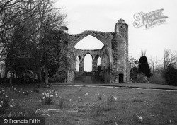 Greyfriars Monastery Ruins c.1955, Winchelsea
