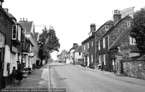 Photo of Winchelsea, High Street c.1955