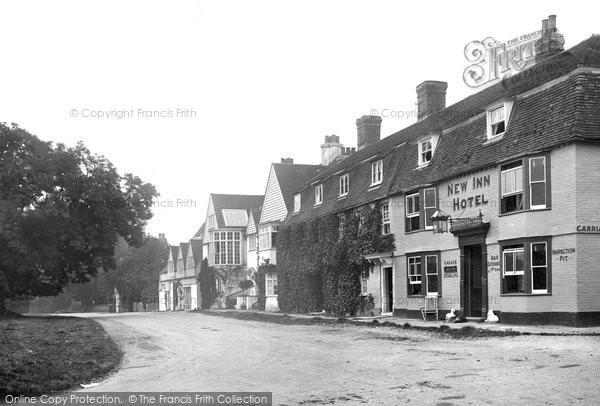 Photo of Winchelsea, New Inn Hotel 1912