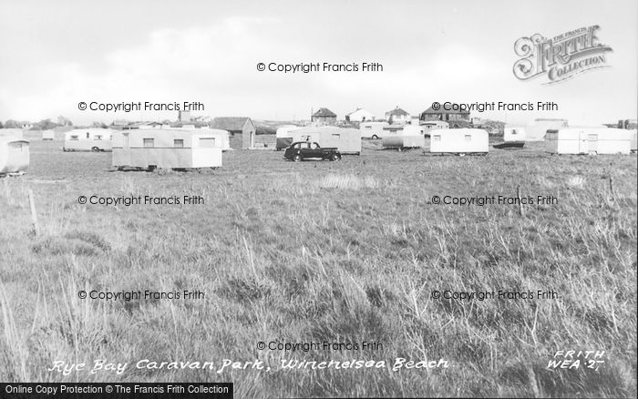 Photo of Winchelsea, Rye Bay Caravan Park c.1955