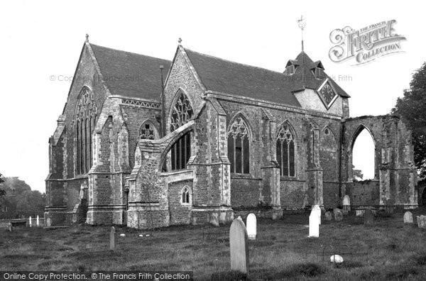 Photo of Winchelsea, St Thomas's Church 1912