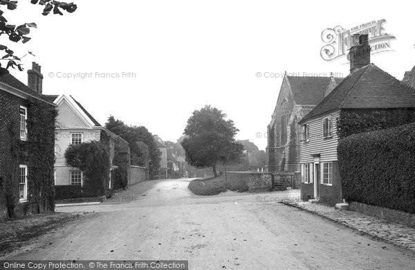 Photo of Winchelsea, St Thomas Street 1912