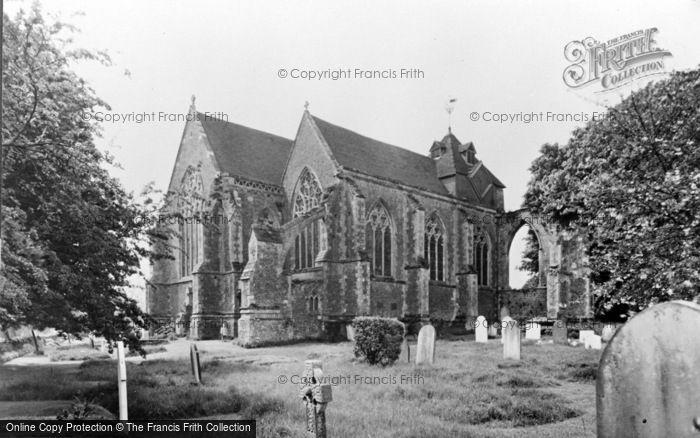 Photo of Winchelsea, The Church c.1955