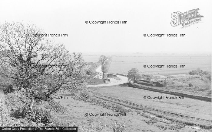 Photo of Winchelsea, The Marsh From Strand Gate c.1955