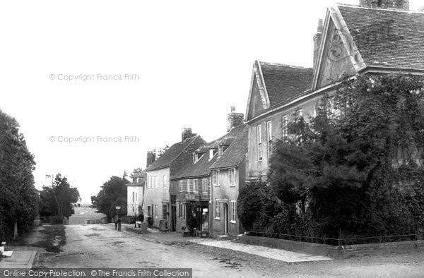 Photo of Winchelsea, The Town 1894