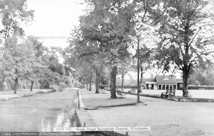 Photo of Winchester, Brook Street Recreation Ground c.1960