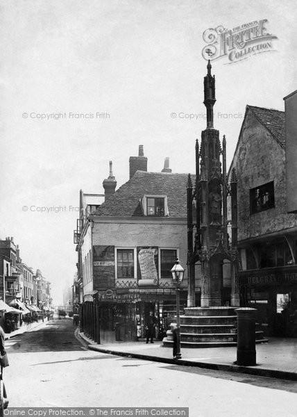 Photo of Winchester, Buttercross 1886
