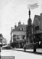 Winchester, Buttercross 1886