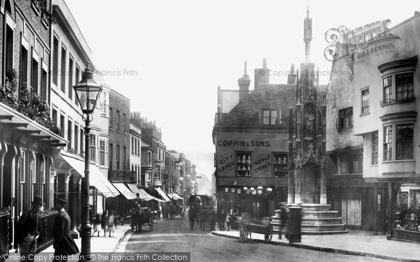 Photo of Winchester, Buttercross 1893