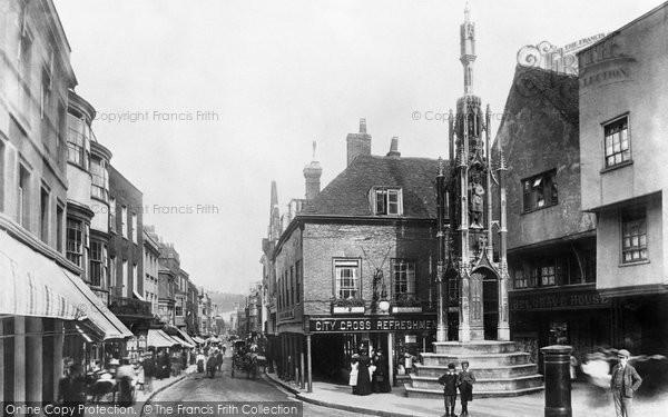 Photo of Winchester, Buttercross 1899
