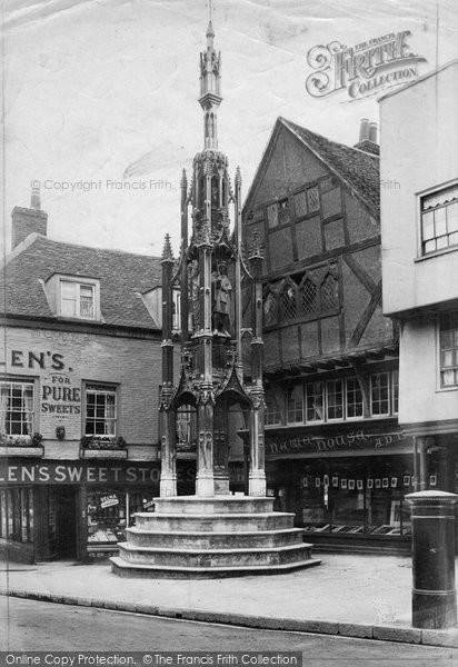 Photo of Winchester, Buttercross 1906