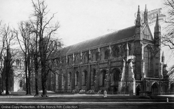 Photo of Winchester, Cathedral 1886