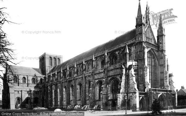 Photo of Winchester, Cathedral 1887
