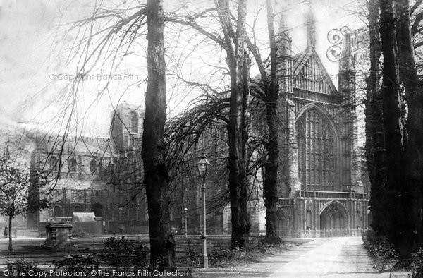 Photo of Winchester, Cathedral 1896