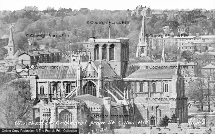 Photo of Winchester, Cathedral 1929