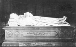 Winchester, Cathedral, Bishop Sumner's Tomb 1886
