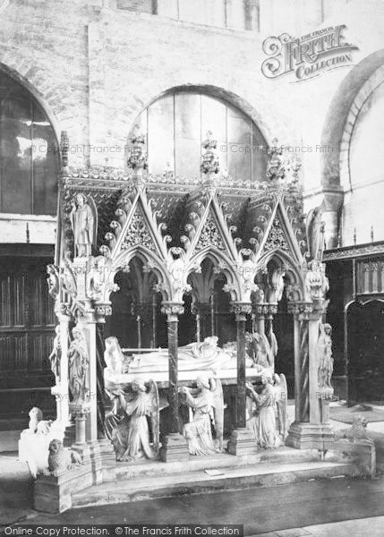 Photo of Winchester, Cathedral, Bishop Wilberforce Tomb 1886