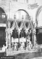 Winchester, Cathedral, Bishop Wilberforce Tomb 1886