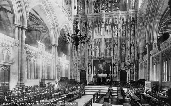 Photo of Winchester, Cathedral, Choir East 1893