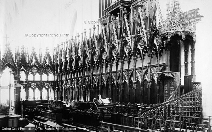 Photo of Winchester, Cathedral, Choir Stalls c.1870