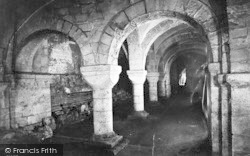 Winchester, Cathedral Crypt 1912