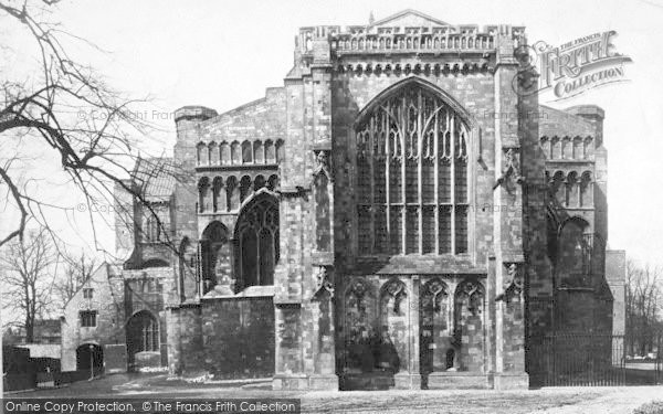 Photo of Winchester, Cathedral, East End 1886