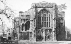 Winchester, Cathedral, East End 1886
