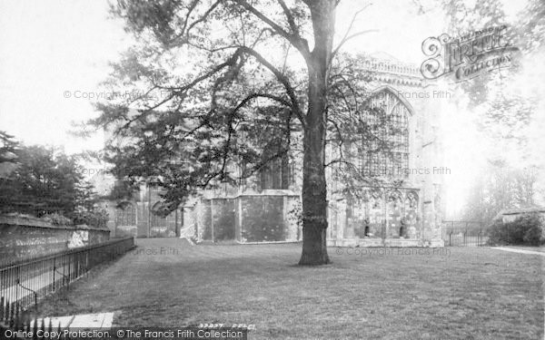 Photo of Winchester, Cathedral, East End 1893
