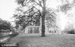 Winchester, Cathedral, East End 1893