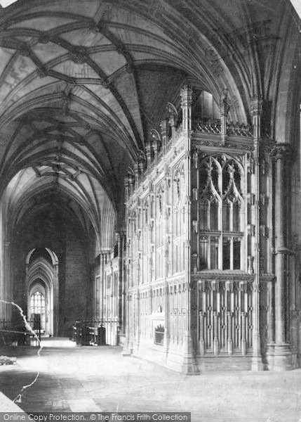 Photo of Winchester, Cathedral, Fox's Chantry 1886