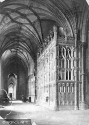 Winchester, Cathedral, Fox's Chantry 1886