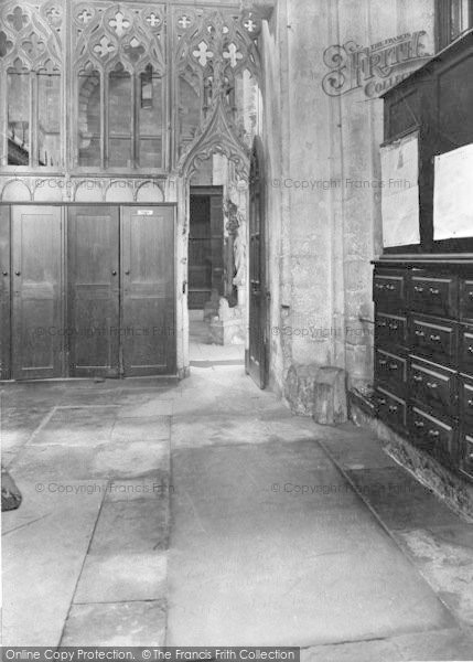 Photo of Winchester, Cathedral, Izaac Walton's Tomb 1929