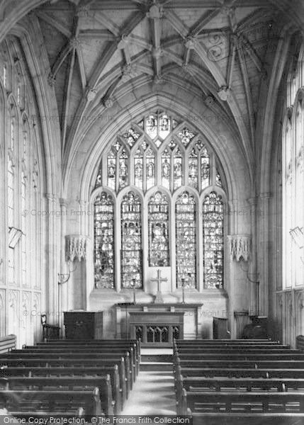 Photo of Winchester, Cathedral, Junior Boys Chapel 1886