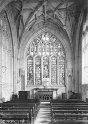 Winchester, Cathedral, Junior Boys Chapel 1886