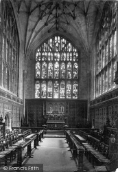 Winchester, Cathedral, Lady Chapel 1911