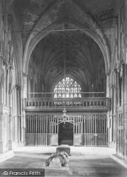Winchester, Cathedral, Lady Chapel Screen 1911