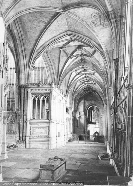 Photo of Winchester, Cathedral, North Choir Aisle c.1862