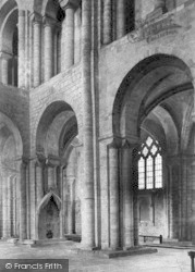 Winchester, Cathedral, North Transept 1886