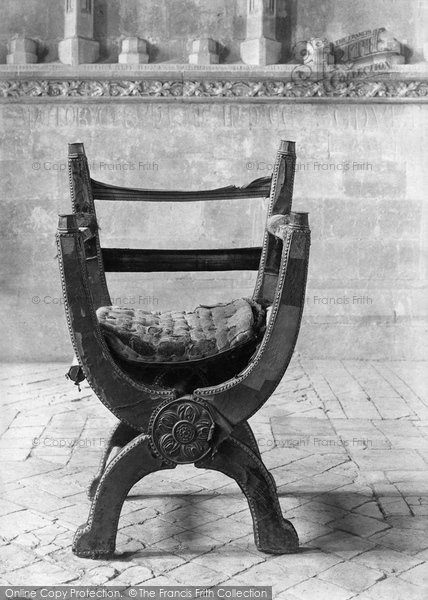Photo of Winchester, Cathedral, Queen Mary's Chair 1911